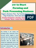 piggery farming business plan