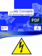 Safety Concepts for Technology Subjects