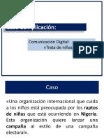 Caso de Aplicación - Comunicación Digital