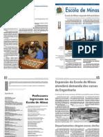 UFOP - Jornal da Escola de Minas - Informativo 2010