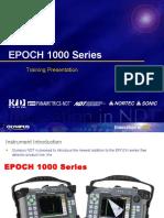 EPOCH 1000 Series Training Presentation 12-08