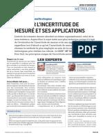 Deltamu - CEM n 50 - Evaluer l'Incertitude de Mesure Et Ses Applications