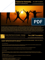 A New Future for Humanity - The Campaign (The LDMF Foundation Board and Chairman, Session 2016.006)