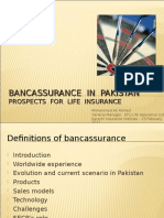 Bancassurance in Pakistan m a Ahmed
