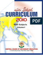 Senior Curriculum 2010 Vol-1