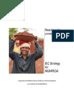 Iec Strategy Mgnrega2905