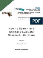 6_Critically-evaluate-research-literature-2009.pdf