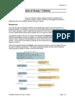 Group 1 Qualitative Analysis