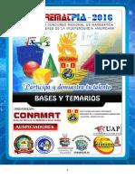 Bases Corematpia 2016