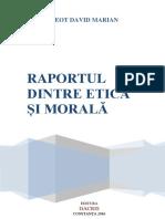 Raportul Dintre Etică Și Morală