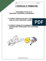 Cuaderno de Apuntes - 3a Evaluacion