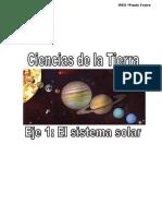 Eje 1 Sistema Solar