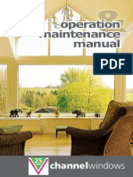Channel Windows Operations & Maintenance Manual.pdf