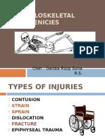 presentasi sprain strain fraktur.ppt