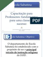 Escola Sabatina - JUAREZ