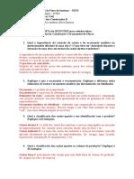 LISTA de Questoes n 02 Sobre Orcamentos de Obras (1)