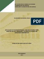 Aplicação de Microextracao Liqliq Para Analise de Btex Em Amostras Ambientais