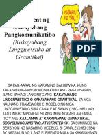 Komponent ng Kakayahang Pangkomunikatibo (Kakayahang Lingguwistiko at.pptx