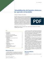 2015 Rehabilitación Del Hombro Doloroso No Operado Ni Inestable