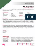 TDS Afix Articoll 125