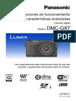 instrucciones panasonic lumix gx7