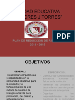 Plan de Reduccion Riesgos