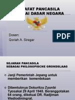 1. Filsafat Pancasila