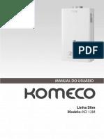 Manual Uso KO 12M