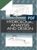 [Richard H. McCuen] Hydrologic Analysis and Design