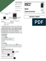 DR201-Instruction de TRADUS