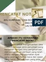 Mencatat Nota