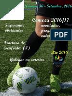 Revista FutbolFemenino. Setembro 2016