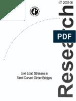 Live load stresses in steel curved girder bridges.pdf