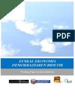 EUSKAL EKONOMIA DEMOKRAZIAREN BIDETIK