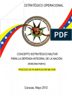 1 Manual Proceso de Planificacion Militar Final ANALISIS HLGB JULIO 2013