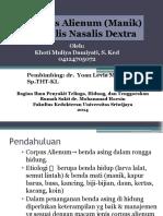 Case IGD Carpal (Manik) KND