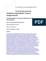 RCompetencias en los procesos de enseñanza-aprendizaje virtual y semipresencialevista Comunicar 36
