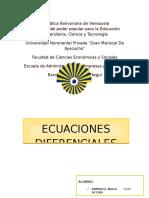 Ecuaciones diferenciales Economicas