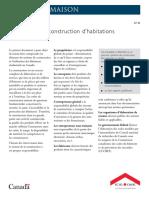 SCHL - Le système de construction d'habitations au Canada