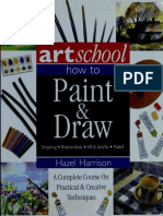 Art School - How to Paint - Draw Watercolor Oil Acrylic Pastel