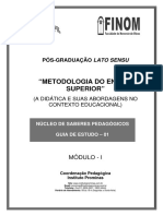 Metodologia Do Ensino Superior - 1