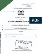 Insolvency Bill 2015
