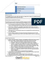 Data Center and Server Project Charter-draft