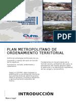 Plan Mmetropolitano del Ordenamiento Territorial de Quito