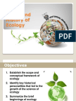 2 Historical Development of Ecology and Scope