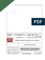 133 24100 003 ET R00 Especificación Del SPCS