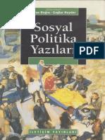 Ayşe Buğra & Çağlar Keyder - Sosyal Politika Yazıları