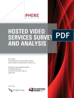 Hosted Video Services Survey and Analysis