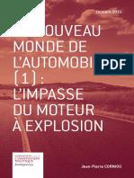 Jean-Pierre Corniou - Le nouveau monde de l'automobile (1)