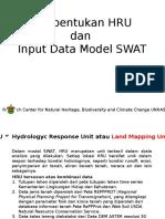 Materi Pembentukan HRU Dan Input Data SWAT